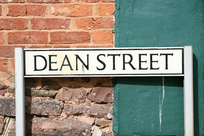 6 Dean Street sign