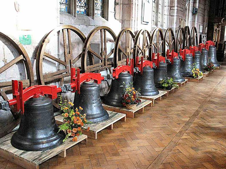 Bell Ringers – Crediton Parish Church